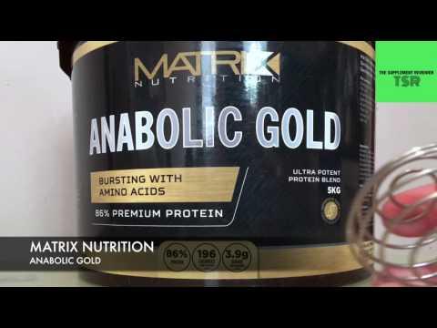 matrix protein anabolic gold