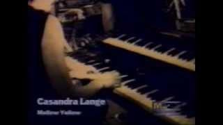 """2/3 Ensayo del disco """"Casandra Lange (Estaba en llamas cuando me ac..."""