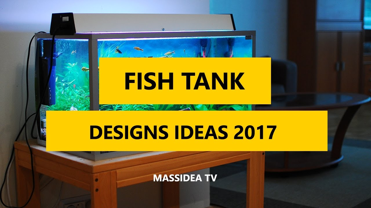 60+ Awesome Fish Tank Designs Ideas for Your House 2017