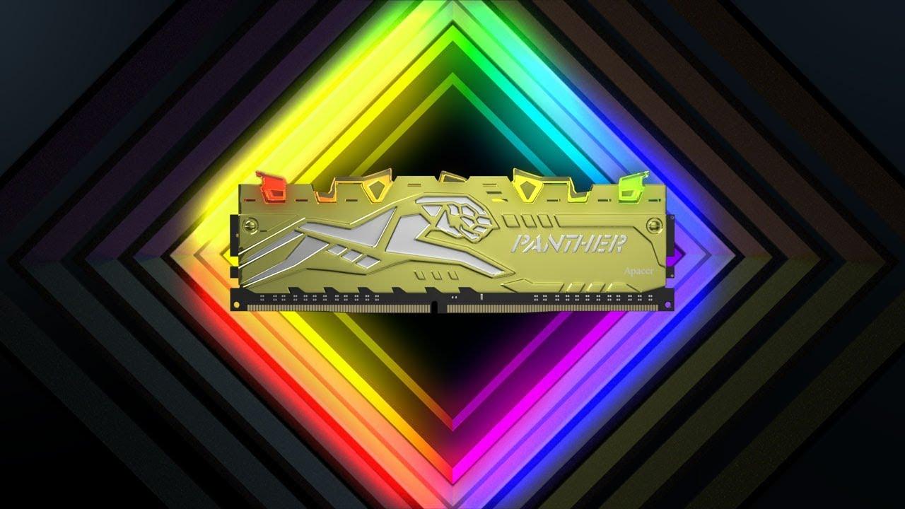 PANTHER RAGE DDR4 RGB Gaming Memory Module | Apacer | 宇瞻科技