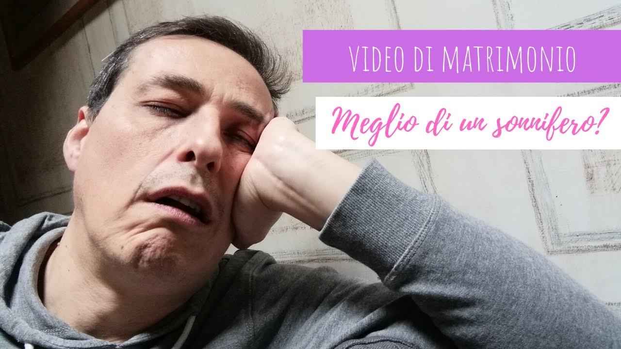 Video Matrimonio Bologna | Meglio di un sonnifero?