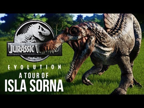 A TOUR OF ISLA SORNA | Jurassic World Evolution's Site B