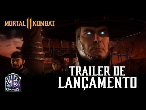 Mortal Kombat 11 - Trailer Oficial de Lançamento
