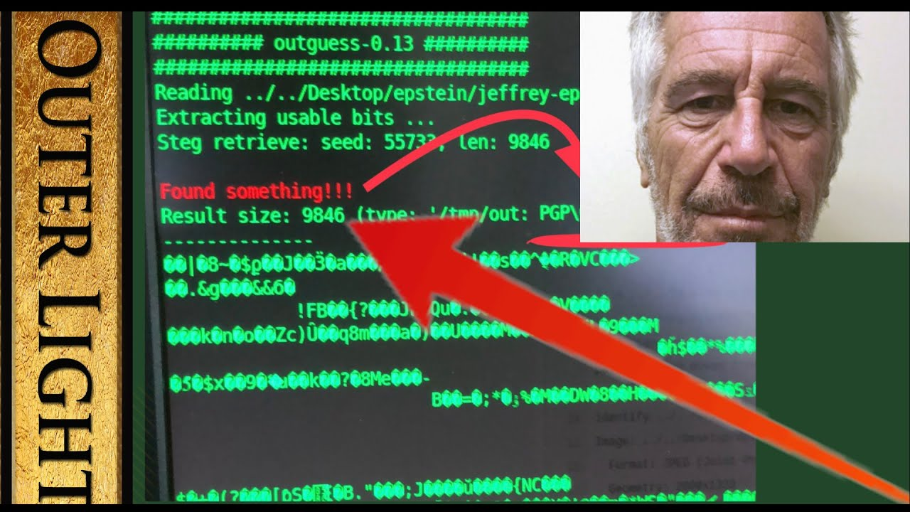 "The Outer Light Researcher claims ""secret PGP keys"" within photos of Jeffery Epstein and Ghisla"