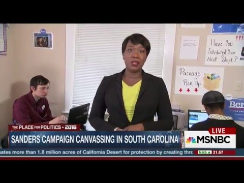 MSBNC Host Reid Talks With African American Voters In SC, And Finds No Clinton Supporters