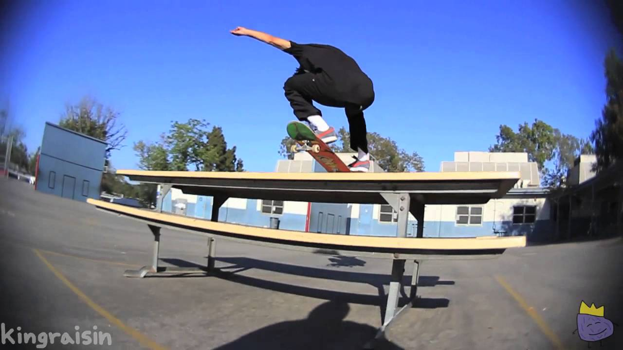 Steven Ban Skating School Picnic Table and Bench - YouTube