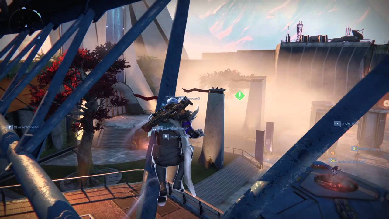 how to tether jump destiny