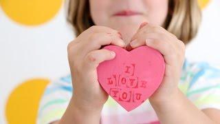 Kids Craft: Conversation Heart Gift Boxes