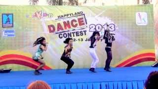 130112 Rapunzel cover 2NE1 @Happyland Dance Contest 2013(Audition)