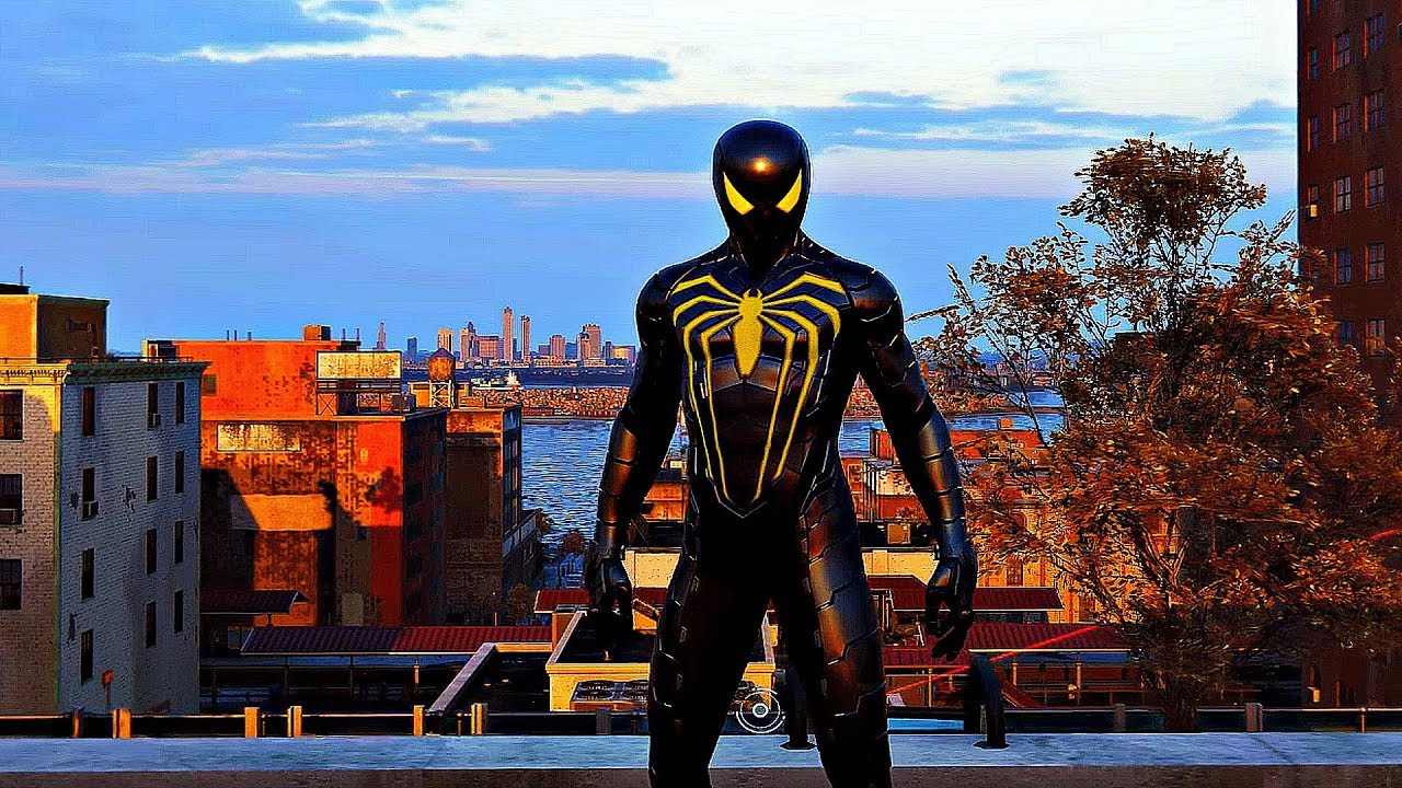 Spider Man Ps4 Anti Ock Suit Gameplay Doctor Octopus Fight