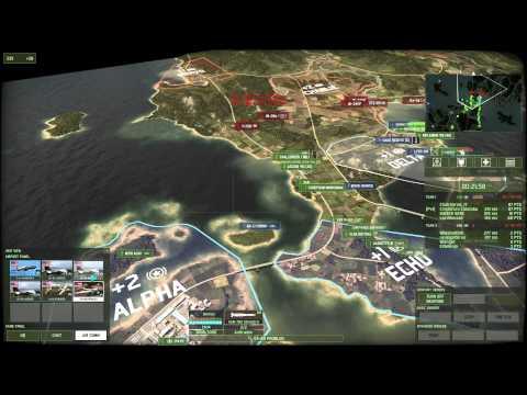Wargame Red Dragon #22 - 4v4 Strait To The Point ITA