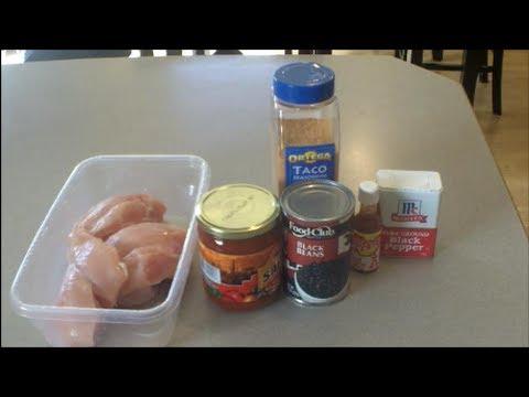 Chicken And Bean Crock Pot Recipe