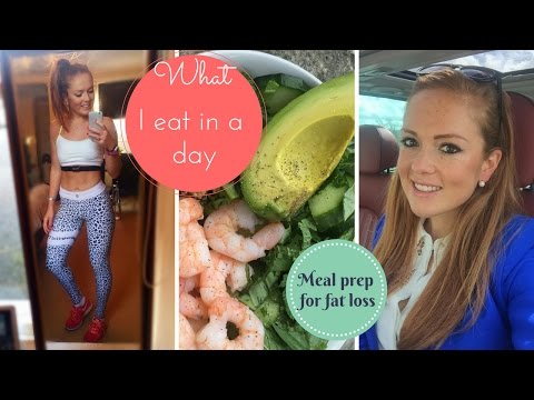 WHAT I EAT IN A DAY  l Clean eating for FAT LOSS l A day in the life