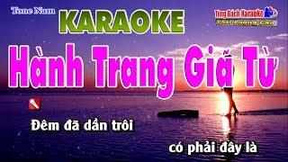 Hành Trang Giã Từ Karaoke Tone Nam - Nhạc Sống Tùng Bách