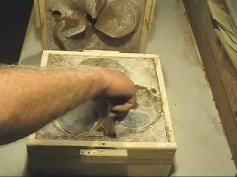 How to make a propeller sand mold