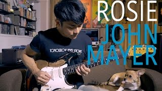 "Gambar cover John Mayer - ""Rosie"" Cover by TinHang (w/Guitar Tab)"