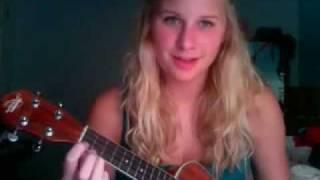 Kiss Me - Six Pence None the Richer (Jen Miller ukulele cover)
