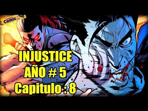 INJUSTICE Año 5 -  Capitulo 8 / Superman vs Bizarro ¿Quien ganará?