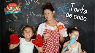 TORTA DE COCO - MENU KIDS DELICIOUS (VIVI LYH)