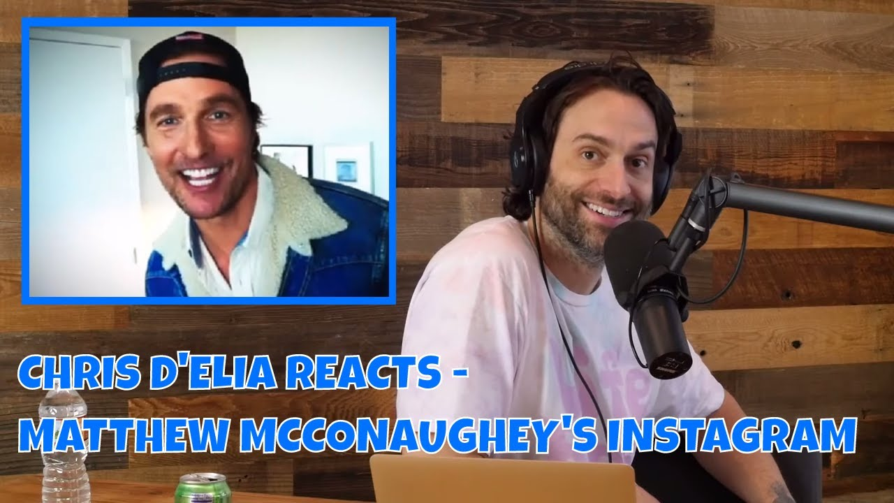 Chris D Elia Reacts To Matthew Mcconaughey Joining Instagram Youtube Miami's biggest playboy, anwar zayden has passed away. youtube