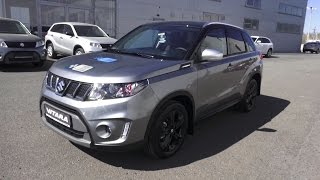 2016 Suzuki Vitara S. Start Up, Engine, and In Depth Tour.