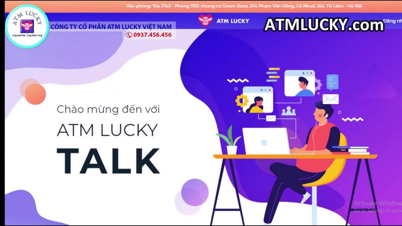 #ATMLUCKY: ATMLUCKY TALK Phần mềm hoàn hảo Thay thế cho Zoom Meeting