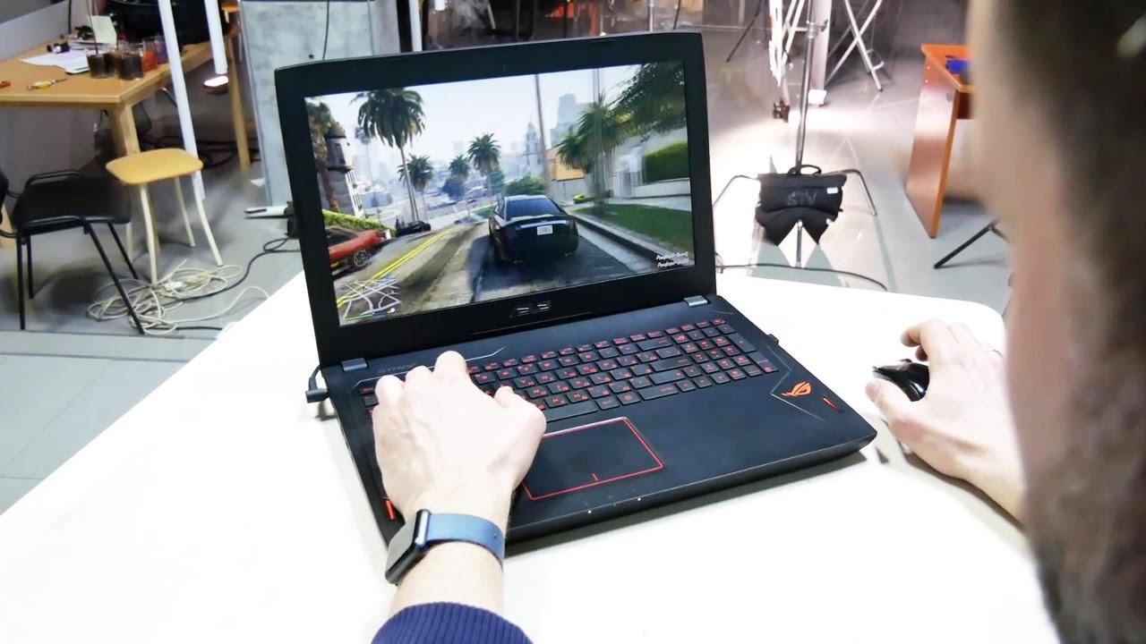 Обзор недорогого игрового ноутбука ASUS Strix GL502VS