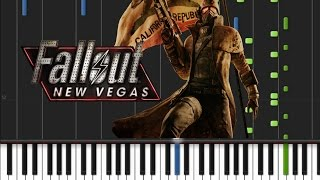 Fallout New Vegas - Main Theme [Piano Tutorial] (♫)