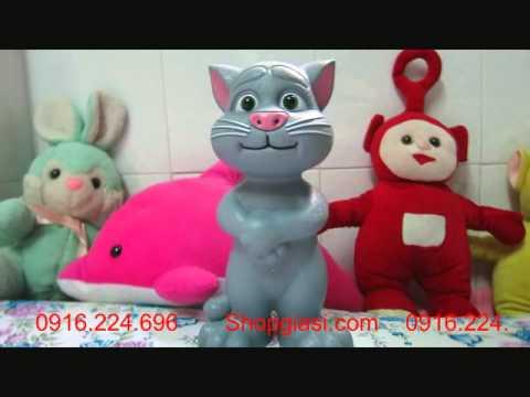 Mèo Tom biết nói    đồ chơi  kích thích sự sáng tạo cho bé