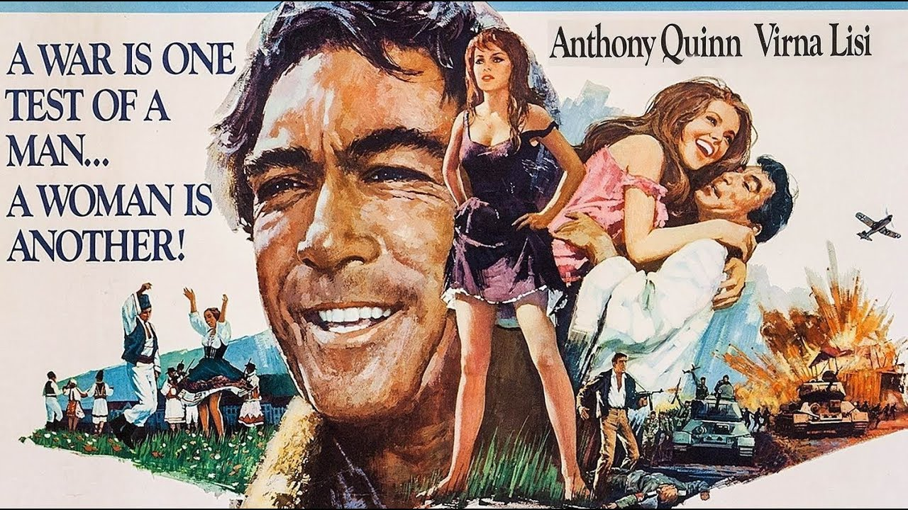 Anthony Quinn - 55 Highest Rated Movies - YouTube