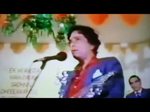 Shashi Kapoor Giving A Speech