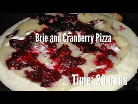 Brie and Cranberry Pizza Recipe
