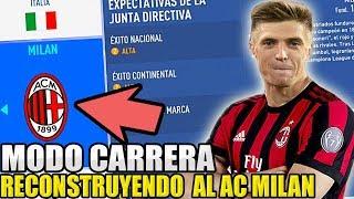 RECONSTRUYENDO desde 0 AL AC MILÁN (Piatek, De Ligt y más)   FIFA 19 Modo carrera
