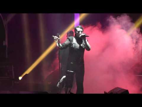Marilyn Manson LIVE Disposable Teens - Prague, Czech Republic 2017