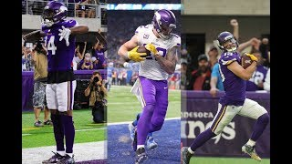 The Minnesota Vikings Top 15 Touchdowns from the 2017-2018 Season
