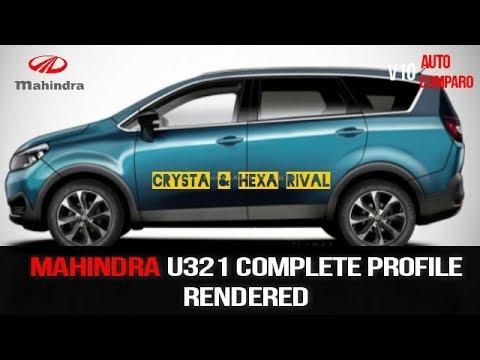 MAHINDRA U321 ! INNOVA CRYSTA & HEXA RIVAL DESIGN RENDERED