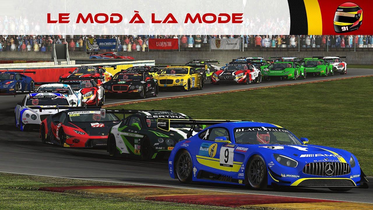 Le Mod à la mode #38: GT3 Series by Simtek (rFactor 2) [FR ᴴᴰ]