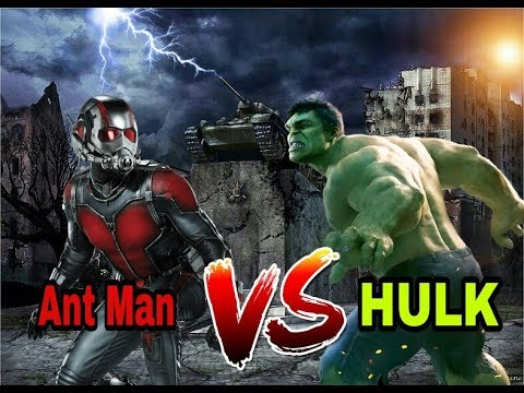 Hulk Vs Ant Man | Tamil Dubbed Epic Scenes