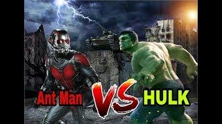 Hulk Vs Ant Man | Tamil Dubbed Epic Scenes