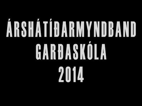 Árshátíðarmyndband Garðaskóla 2014