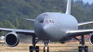 Boeing KC-46A Aerial Refueling Tanker w/ Wing Pods & Boom Test Flight