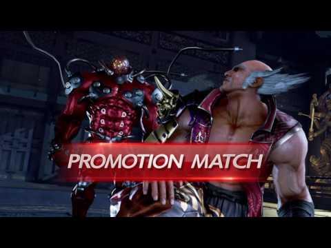 Tekken 7 PS4 Gigas Arcade Playthrough