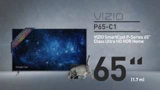 """All-New 2016 VIZIO P65-C1 SmartCast™ P-Series™ 65"""" Class Ultra HD HDR // Full Specs Review  #VIZIO"""