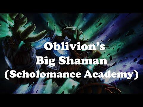 Hearthstone [WILD] Oblivion's Big Shaman ft. The Lich King (Scholomance Academy) (1080p)
