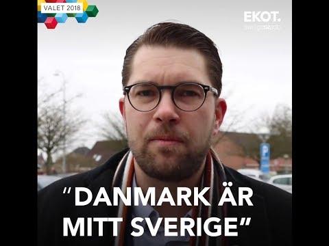 """Jimmie Åkesson blir utfrågad i Sveriges Radio """"Mitt Sverige"""""""