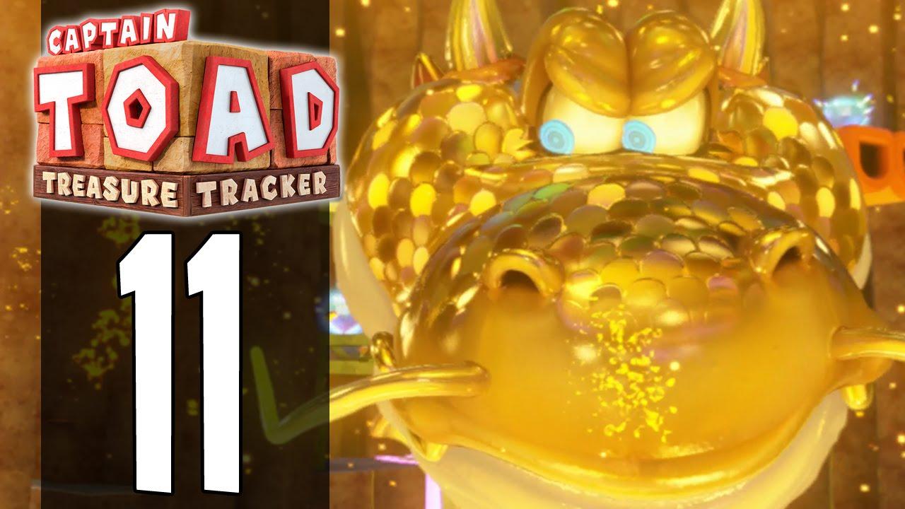 Captain toad treasure tracker part 11 gameplay walkthrough
