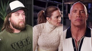 Ozzy Man & The Rock & Emily Blunt GUESS THE JUNGLE CREATURE