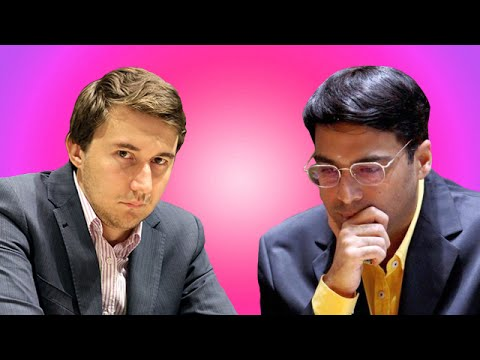 2016 Candidates Chess Tournament - Sergey Karjakin vs Viswanathan Anand - Round 4