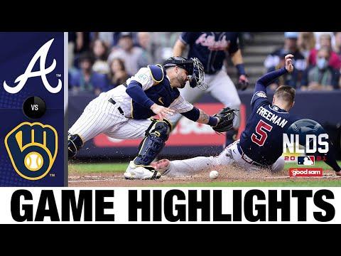 Braves vs. Brewers NLDS Game 2 Highlights (10/9/21)   MLB Highlights