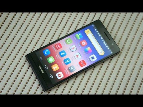 Обзор Huawei Ascend P6s: тонкий металлический смартфон с двумя SIM-картами